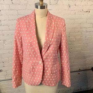 Ann Klein Pink Blazer 3 pockets sz.10